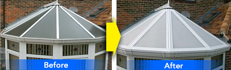 Before and After - Silent Roof Systems